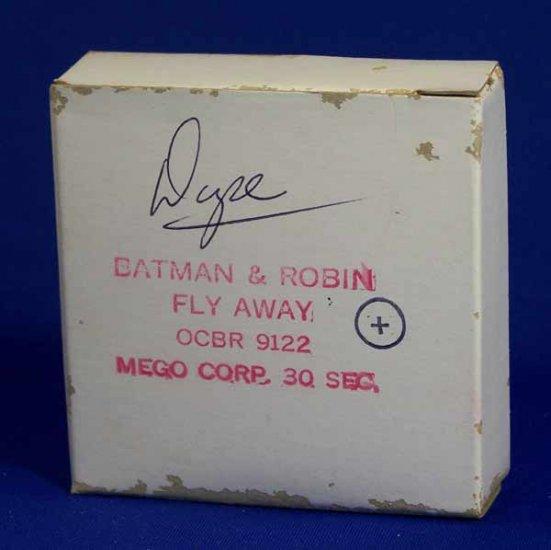 Mego Batman and Robin Action Figure Commercial Original 16mm Film