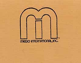 Original Mego Toy Corp Stationary