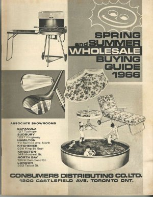1967 Consumers Distributing Catalog Summer