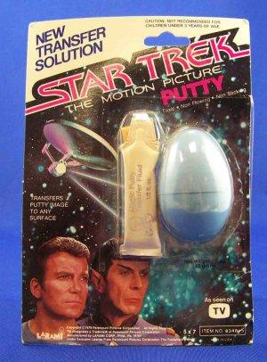 Star Trek Putty from 1979 MOC