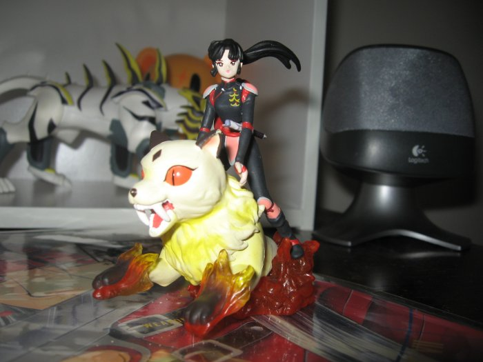 Sango and KIrara figure