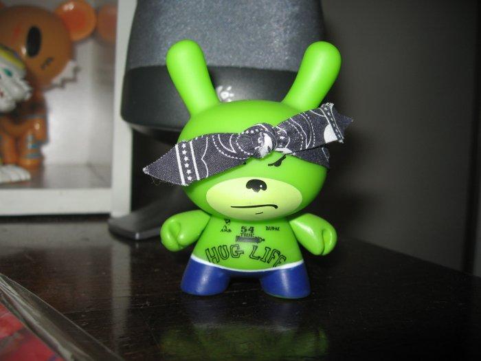 Random figure green rabbit