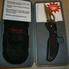 Maxam Pro Series Knife  w/ case NEW