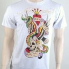 "Ed Hardy T Shirt by Christian Audigier ""New York City"" size XL"
