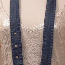 Belt Blue Denim Jean