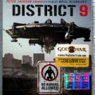DVD Blu Ray Disc District 9