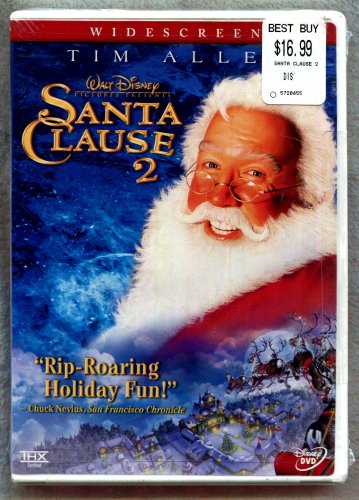 DVD Disney   Santa Clause 2