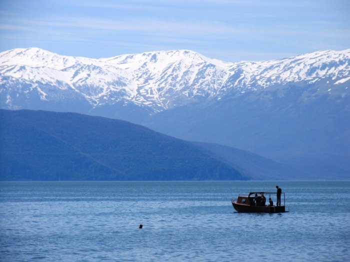 lake prespa, macedonia