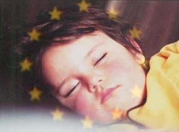 sleeping beauty with stars