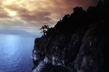 island golem grad ,lake prespa