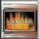 LACUNA COIL ITALIAN CHARM CHARMS