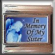 IN MEMORY OF SISTER GUARDIAN ANGEL ITALIAN CHARM