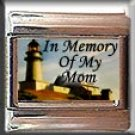 IN MEMORY OF MOM LIGHTHOUSE ITALIAN CHARM
