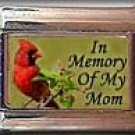 IN MEMORY OF MOM CARDINAL ITALIAN CHARM