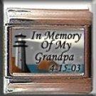 IN MEMORY OF GRANDPA LIGHTHOUSE ITALIAN CHARM