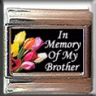 IN MEMORY OF BROTHER TULIPS ITALIAN CHARM