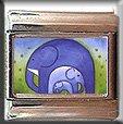 BLUE ELEPHANTS ITALIAN CHARM CHARMS