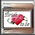 BRIDE TO BE ITALIAN PHOTO CHARM