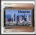 DENVER SKYLINE ITALIAN CHARM CHARMS