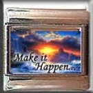 MAKE IT HAPPEN SUNSET ITALIAN CHARM CHARMS