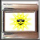 SUN ITALIAN CHARM CHARMS