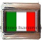 ITALY FLAG ITALIAN CHARM CHARMS