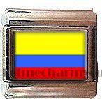 ECUADOR FLAG ITALIAN CHARM CHARMS