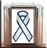 THYROID CANCER AWARENESS ITALIAN CHARM CHARMS