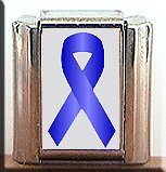 KIDNEY CANCER #2 AWARENESS ITALIAN CHARM CHARMS