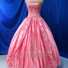 Sexy Satin ball gown Evening dress costom make Quinceanera