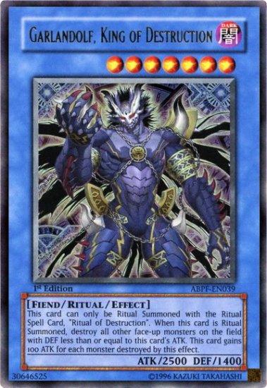 Garlandolf, King of destruction (1st edition)