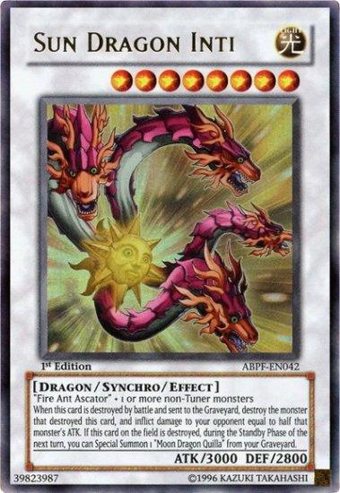 Sun dragon Inti (1st edition)