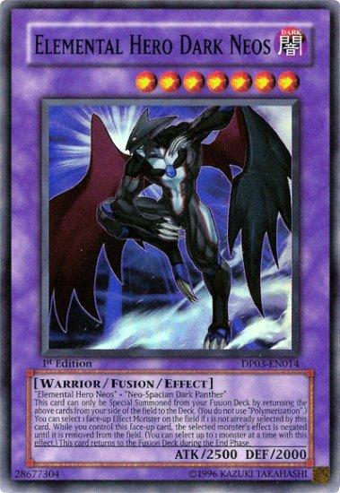 Elemental hero Dark neos (1st edition)