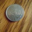 MEXICO 1984 1$ PESO STEEL COIN Central America ~ Jose Morelos y Pavon ~