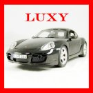 Maisto 1:18 Porsche Cayman S Black Diecast Car Model Luxy Collectibles