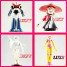 Mazinger Z Aphrodite Nagai Dororon Characters Set of 4  Anime Luxy Collectibles