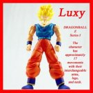 DragonBall Action Figure SUPER SAIYAN GOKU LUXY Anime Collectibles dbz 3