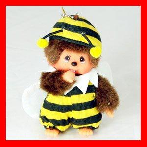 MONCHICHI Keychain Bee Costume Sekiguchi LUXY Collectibles mo4