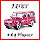 Maisto 1:64 MERCEDES BENZ G CLASS DUB Playerz Diecast Car Model Luxy Collectibles Red