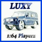 Maisto 1:64 MERCEDES BENZ G CLASS DUB 1:64 Playerz Diecast Dark Blue