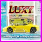 Maisto 1:64 LAMBORGHINI MURCIELAGO DUB Playerz Diecast Car Model Luxy Collectibles Yellow