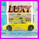 Maisto 1:64 LAMBORGHINI MURCIELAGO DUB Playerz Diecast Car Model Luxy Collectibles Yellow