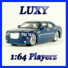 Maisto 1:64 CHRYSLER 300C HEMI DUB Playerz Diecast Car Model Luxy Collectibles Dark Blue