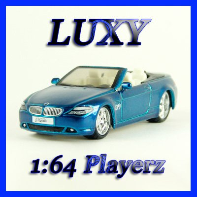 Maisto 1:64 BMW 645 Ci COUPE DUB Playerz Diecast Car Model Luxy Collectibles Dark Blue