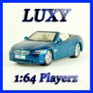Maisto 1:64 BMW 645 Ci COUPE DUB Playerz Diecast Car Model Luxy Collectibles Dark Blue