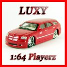 Maisto 1:64 2005 DODGE MAGNUM R/T DUB Playerz Diecast Car Model Luxy Collectibles Red
