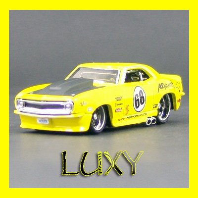 Maisto 1:64 1967 CHEVROLET CAMARO Z28 Muscle Pro Rodz Diecast Luxy Collectibles Yellow 6.1