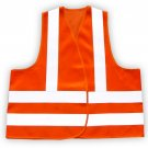 Reflective Safety Vest Orange - Oversize - SKU 5006