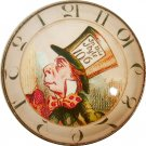 """1 & 3/8"""" Glass Dome Button - AC 15 Mad Hatter Clock"""
