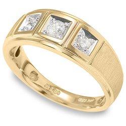 1/3 ctw Men's Diamond Band 14-k size 11